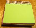 Simple autograph book
